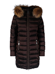 Long light down jacket